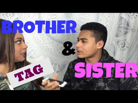 BROTHER AND SISTER TAG   Français