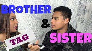BROTHER AND SISTER TAG | Français