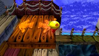 Pacman World | PS1 Español | Nivel 1 y 2 | Mundo Pirata |