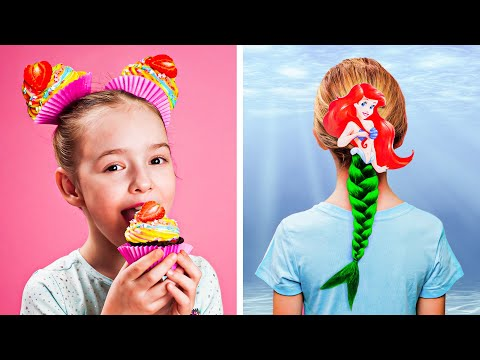 8 CUTE HAIRSTYLES IDEAS FOR GIRLS Help is on the way by 123 GO PLAY