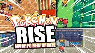 NEW UPDATE TO POKEMON RISE! (REALTIME POKEMON MMORPG!?)