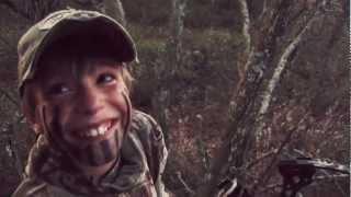 Kids Reaction to Shooting a Big Buck!