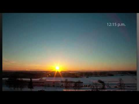 UAF - 2010 - Winter solstice in Fairbanks, Alaska