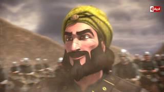 """حبيب الله - لحظة مخالفة أمر رسول الله ونزول الرماة من الجبل """"وهزيمة المسلمين من بعد الإنتصار"""""""