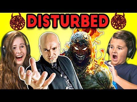 Kids React To Disturbed Metal Band