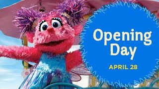 Sesame Place Opening Day Parade!