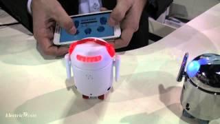 "Reality Robotic's BERO ""Be The Robot"" Smartphone Robot Stars @ CES 2013"
