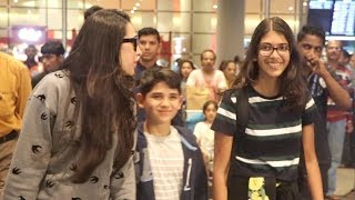 Karishma Kapoor And Her Kids Samiera And Kiaan Raj Kapoor