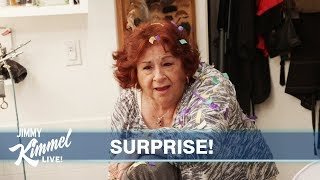 We Scare Aunt Chippy on Her 80th Birthday