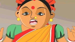 Chota Birbal – Honey Bee Attack – মধু মৌমাছি আক্রমণ - Animation Moral Stories For Kids In Bengali