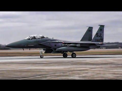 F-15E Strike Eagles At Exercise Razor Talon (Jan 2017)