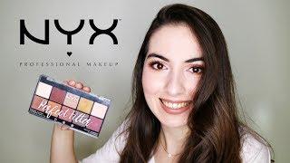Ürün İnceleme   NYX Perfect Filter Rustic Antique Far Paletiyle Makyaj & İlk İzlenim