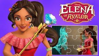 Elena Of Avalor Cartoon Clips Puzzles - Disney Junior App For Kids