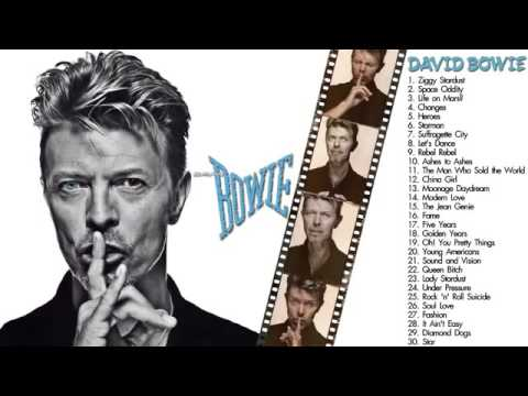David Bowie Greatest Hits The Best of David Bowie