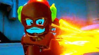 The Flash & Reverse Flash vs Johnny Quick - LEGO DC Super Villains the flash