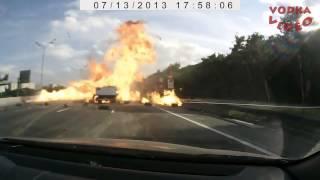 جديد 2013 حوادث روسيا غير-- غباء غير طبيعي HD