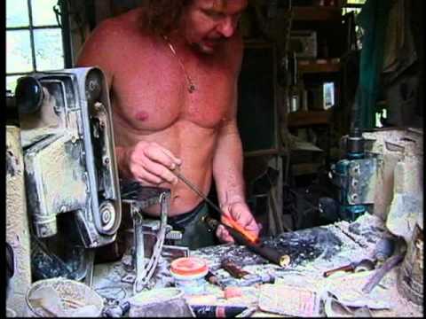 Brian Wittman hand tunes the Maui Xaphoon Bamboo Sax