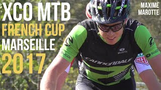 Coupe de France VTT XCO 2017 Marseille Hommes Compétition XC Cross Country MTB Cycling Race Video