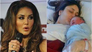 নতুন মা হওয়া কারিনাকে যা বললেন সানি লিওন | Sunny Leone's message for Kareena Kapoor !!