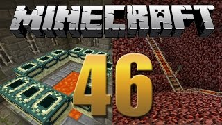 Ferrovia no Nether / Portal do Fim - Minecraft Em busca da casa automática #46-2