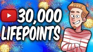 30,000 SUBS CELEBRATION! -DINOSAURS VS GANDORA- (YU-GI-OH! 30,000 Lifepoints Challenge)