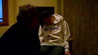 Jen getting hypnotized