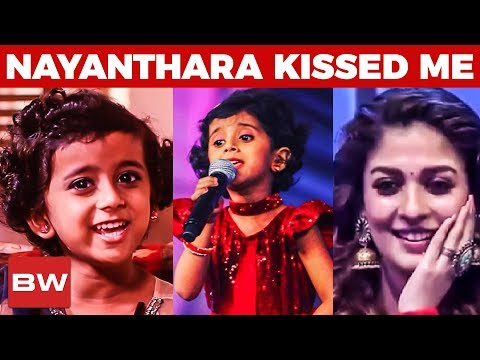 Xxx Mp4 Quot Nayanthara Kissed Me Quot Sun Singer Title Winner Ananya 39 S Cute Musical Interview RR 44 3gp Sex