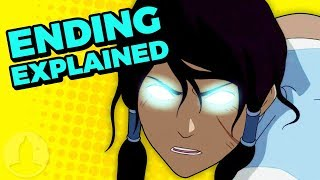 The Legend of Korra Book 4 Ending Explained! | Channel Frederator