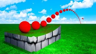IMPOSSIBLE 3000ft TRICK SHOT! CAN YOU HIT IT? (Golf It)