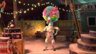 Madagascar 3 - Marty cantando Afro Circo no novo filme da Dreamworks