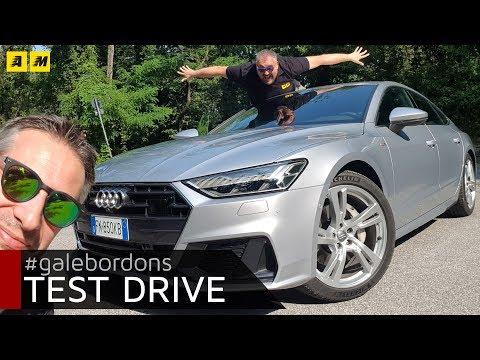 Audi A7 Sportback Cinque metri di tecnologia e piacere di guida 3D