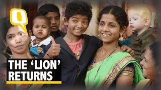 The Quint: Lion's Sunny Pawar returns Home in Mumbai