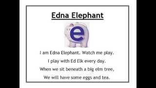 Alphafriends: Edna Elephant