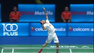 Celcom Axiata Malaysia Open 2017 | Badminton F M3-MS | Lee Chong Wei vs Lin Dan