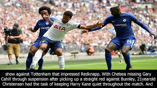 Bakayoko and christensen praised by redknapp after chelsea beat spurs