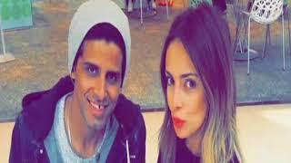 حمدي المرغني وزوجة اسراء عبد الفتاح في غاية الرومانسية شاهد...