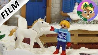 بلايموبيل فيلم  | يونيكورن في الثلج!هانا ترى حصان اليونيكورن فى عطلة تزلج. سلسلة للأطفال