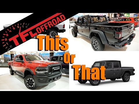 Xxx Mp4 2019 Ram Power Wagon Or Jeep Gladiator Rubicon This Truck Or That Ep 1 3gp Sex