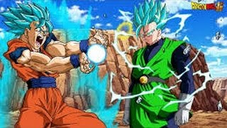 Goku ssj 3 vs Ultimate Gohan Full Fight In Hindi Dub