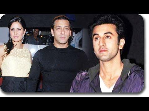 Salman Khan Meets Ex-Girlfriend Katrina Kaif, Ignores Ranbir Kapoor