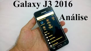Galaxy J3 2016 Análise Completa