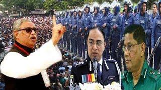 এবার পুলিশ কে ধরে পেটালেন ঐক্যফ্রন্ট নেতা সুলতান মনসুর । bd politics news । bangla viral news