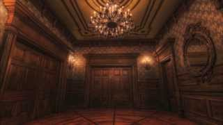 Disneyland Haunted Mansion Ride Through Picture with HD soundtrack