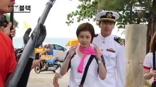 [文彩元&李陣郁] [HD] 2016.03.23 MBC《Goodbye Mr. Black》拍攝花絮 - 卡亞&車智元的初次相遇