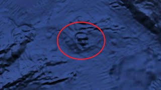 Mysterious faces Google earth