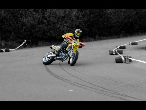 This is Supermoto Racing | DRIFTS, CRASHES, WHEELIES