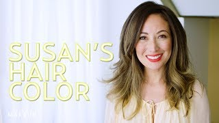 Celebrity Hair Color Advice for Highlights on Brunette Hair | The SASS with Susan and Sharzad