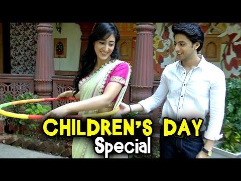 EXCLUSIVE : Aryan & Sanchi Celebrate Children's Day | Ek Rishta Sajhedari Ka