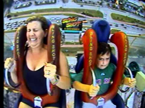 Xxx Mp4 Funny Funny Sling Shot Ride Video Mom And 7 Year Old Son 3gp Sex
