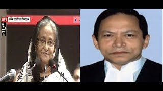 Sheikh Hasina hard comment about S.K sinha